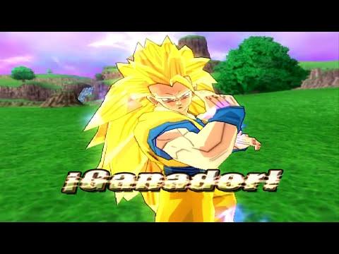 Dragon Ball Z Budokai Tenkaichi 3 Version Latino *Goku vs