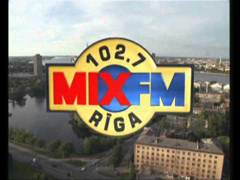 Радио MIX FM 102,7 в Риге