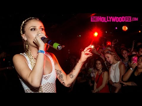 Lil Debbie Epic Fail With The Worst DJ Of All Time At Club Los Globos 6.20.14