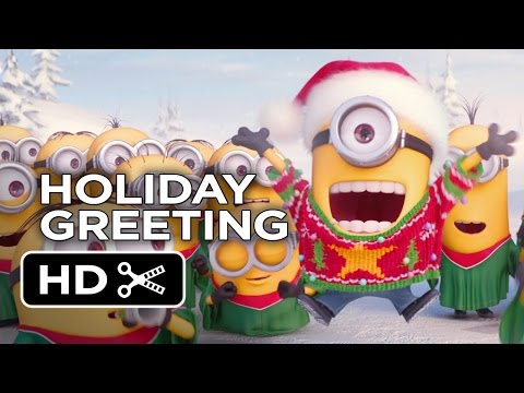 Minions Holiday Greeting (2015) - Movie Hd video