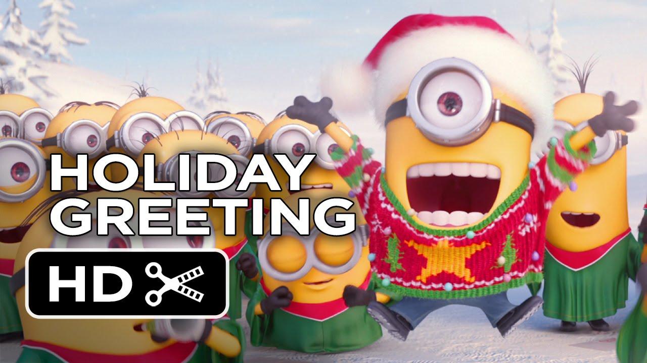 Minions Holiday Greeting 2015 Movie HD YouTube