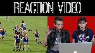 Top 50 AFL Marks of All Time - Reaction Video
