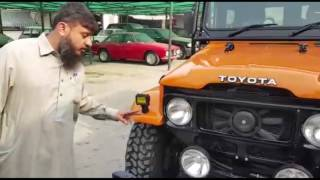 Toyota FJ40 Complete Modified And Upgraded with 4000cc Power Engine FJ 40 streaming