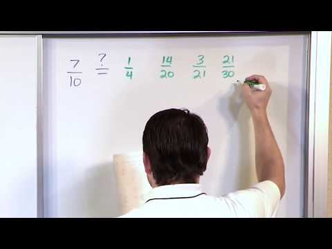 Equivalent Fractions - 5th Grade Math - Scienceandmath video