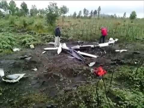 Crash d'un deuxième drone de la Monusco près de Goma (RD Congo), 20 octobre 2014.