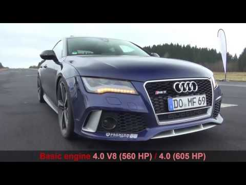 ★Chevrolet Corvette 6.2 L V8 (659 hp) vs.  Audi RS7 4.0 (605 hp) / 0-325 (review. sound)