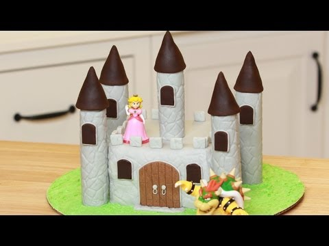 HOW TO MAKE A CASTLE CAKE - NERDY NUMMIES