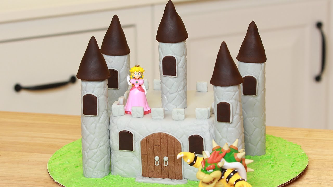 HOW TO MAKE A CASTLE CAKE NERDY NUMMIES YouTube