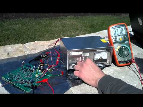 P13271 AMSAT Maximum Power Point Tracker Test 1
