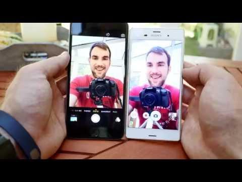 Apple iPhone 6 Plus vs. Sony Xperia Z3 Comparison [4K]