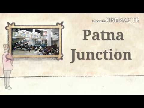 Patna Junction Night Scene
