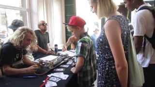 Skateboarding - Schaeffer McLean goes to the US VANS Team Autograph Signing in Bristol