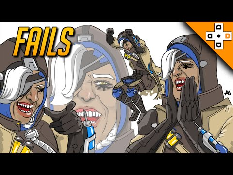 OVERWATCH FUNNY PLAYS - EPIC FAILS! | Highlights Montage