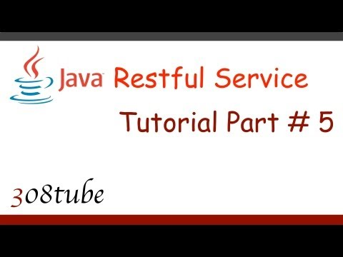 Java Restful Service Tutorial - Search functionality - Part 5