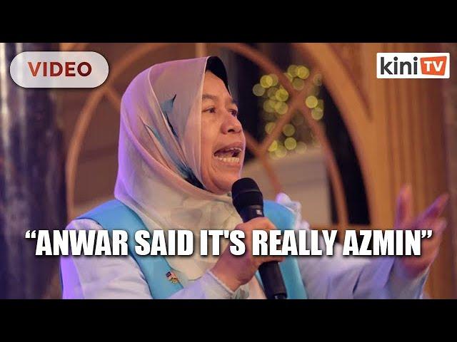 Zuraida: Anwar tried to convince me on Azmin sex video thumbnail