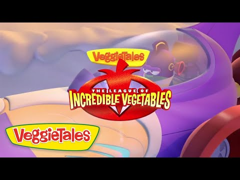 The League of Incredible Vegetables Trailer | VeggieTales
