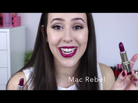 Mac Lipstick Drugstore Dupes + Lip Swatches-  2014