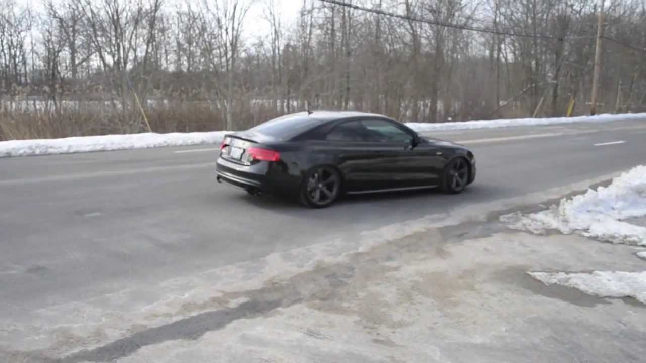 2014 Audi B8 5 S5 W Awe Exhaust Fly Bys Youtube