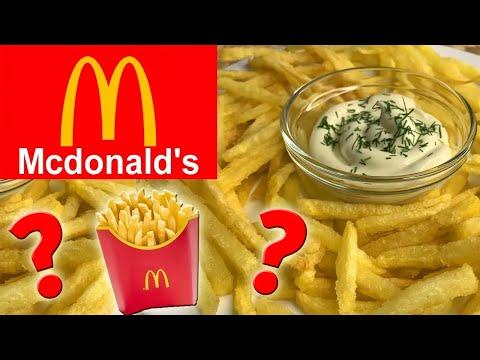 Как приготовить домашнюю картошку фри - видео