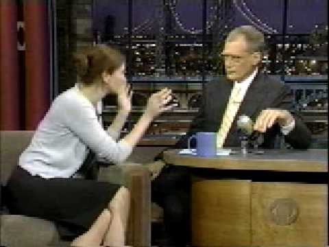 Julia Roberts on David Letterman 2000 part 4