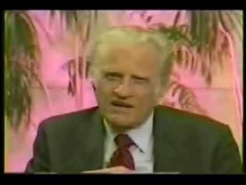 Robert Schuller And Billy Graham Speaking  Wide  Acceptance
