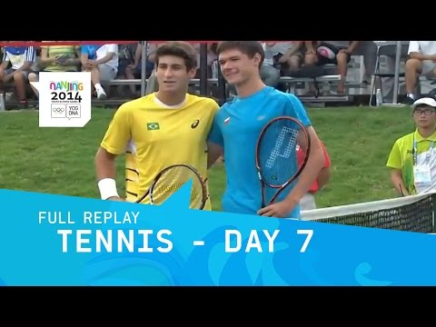 Tennis -  Gold Medal Singles, Doubles | Full Replay | Nanjing 2014 Youth Olympic Games