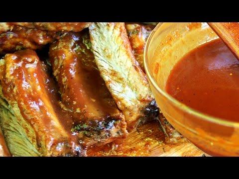 Salsa Barbacoa y Costillitas de Cerdo! Receta de Locos X el Asado