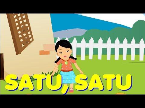 Satu satu Aku Sayang Ibu| Sayang Semuanya | Lagu Anak TV | One and One Song in Bahasa Indonesia