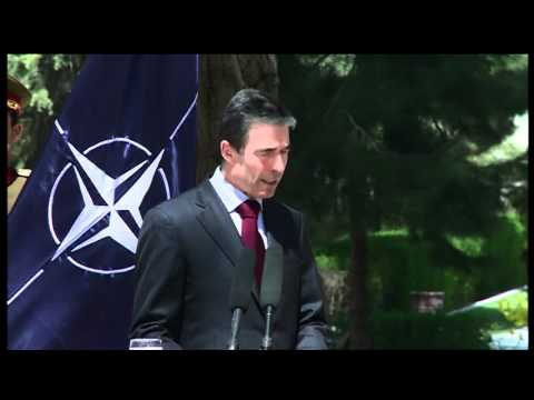 Joint Press Conference in Kabul by NATO's Secretary General and President Karzai