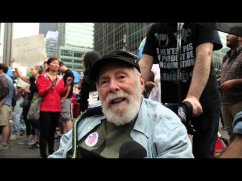 UN Secretary-General walks in historic People's Climate March