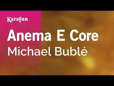 Karaoke Anema E Core - Michael Bublé *