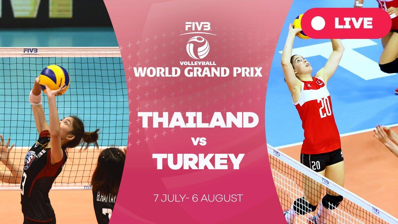 Thailand v Turkey - Group 1: 2017 FIVB Volleyball World Grand Prix