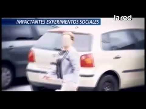Impactantes experimentos sociales: ¿Qué pasa cuando se ocupa un estacionamiento para minusválidos?