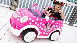 New super toy's baby car of mickey and minnie mouse Video for kids