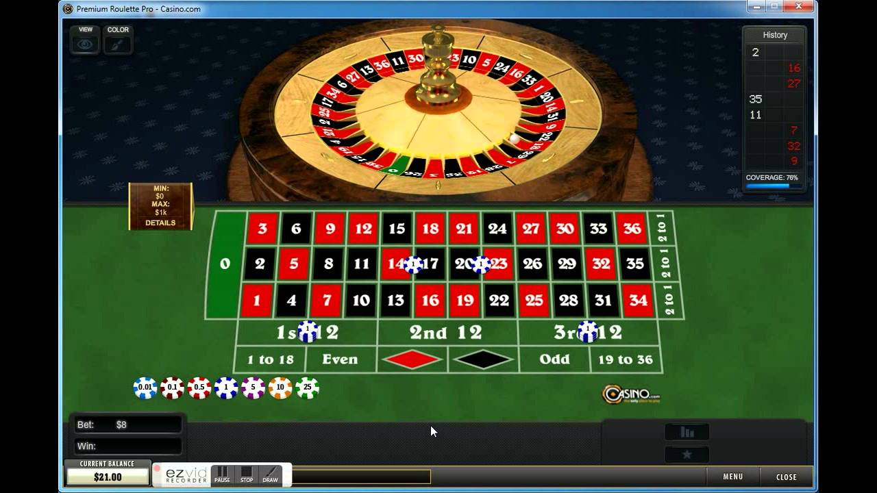 The seven spot roulette system