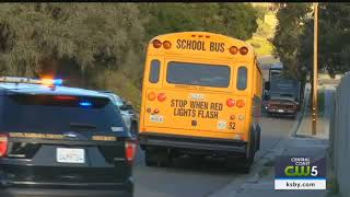 BB gun used to shoot out school bus window near Lompoc, police say
