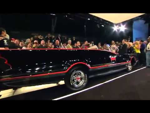 SOLD 4.2 Million the Original 1966 Batmobile built by George Barris auctioned off by Barret Jackson