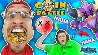 BIG HEAD, SMALL HEAD, PEARL DREAD, HE DEAD! FGTEEV Father vs. Son Arcade Coin Battle (LIGHTSEEKERS)
