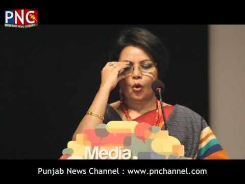 Alka Saxena | Media Conclave 2016 Part 2 | Punjab News Channel | Official Video