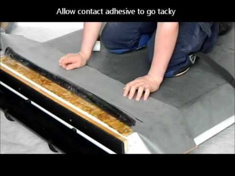 Rubber Roof Installation Guideline Youtube