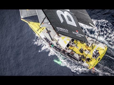 King Neptune awaits   Volvo Ocean Race 2014-15