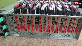 8 x GTX 1080 Ti - Asus ESC 8000 G3 | Quái vật đã xuất hiện tại Việt Nam | AZPC TV