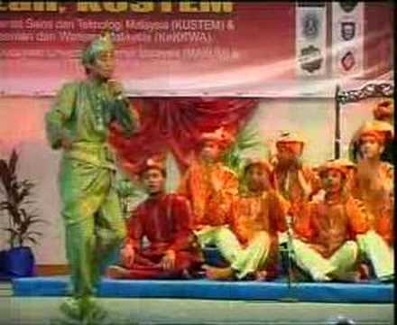 Pertandingan Dikir Barat Makum 2006 - Final Ukm Vs Um Part 4 video