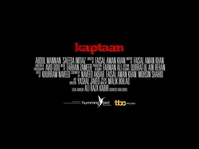 Kaptaan - Official Movie Trailer - Jan 2013