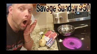 Cooking or Burning Down Omar's House 😱 Savage Sunday #50