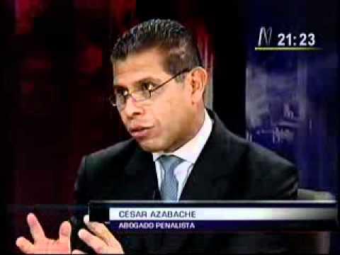 Debate entre C. Azabache y R. Rey sobre la aplicación de la pena de muerte en el país.
