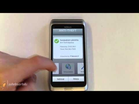 Nokia E7 - QuickOffice & F-Secure
