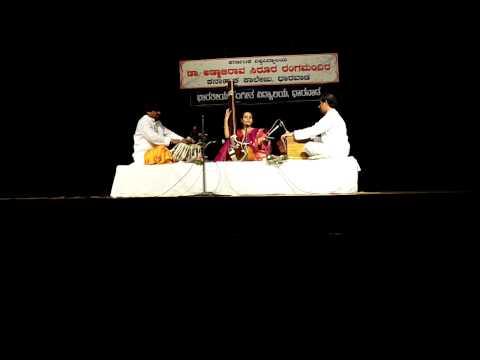 Kshana Aala  Marathi Natya Geet by Noopur Kashid Dharwad 2014...