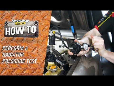 How to - Perform a Radiator Pressure Test