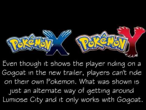 Pokemon X & Y Update  May 22, 2013